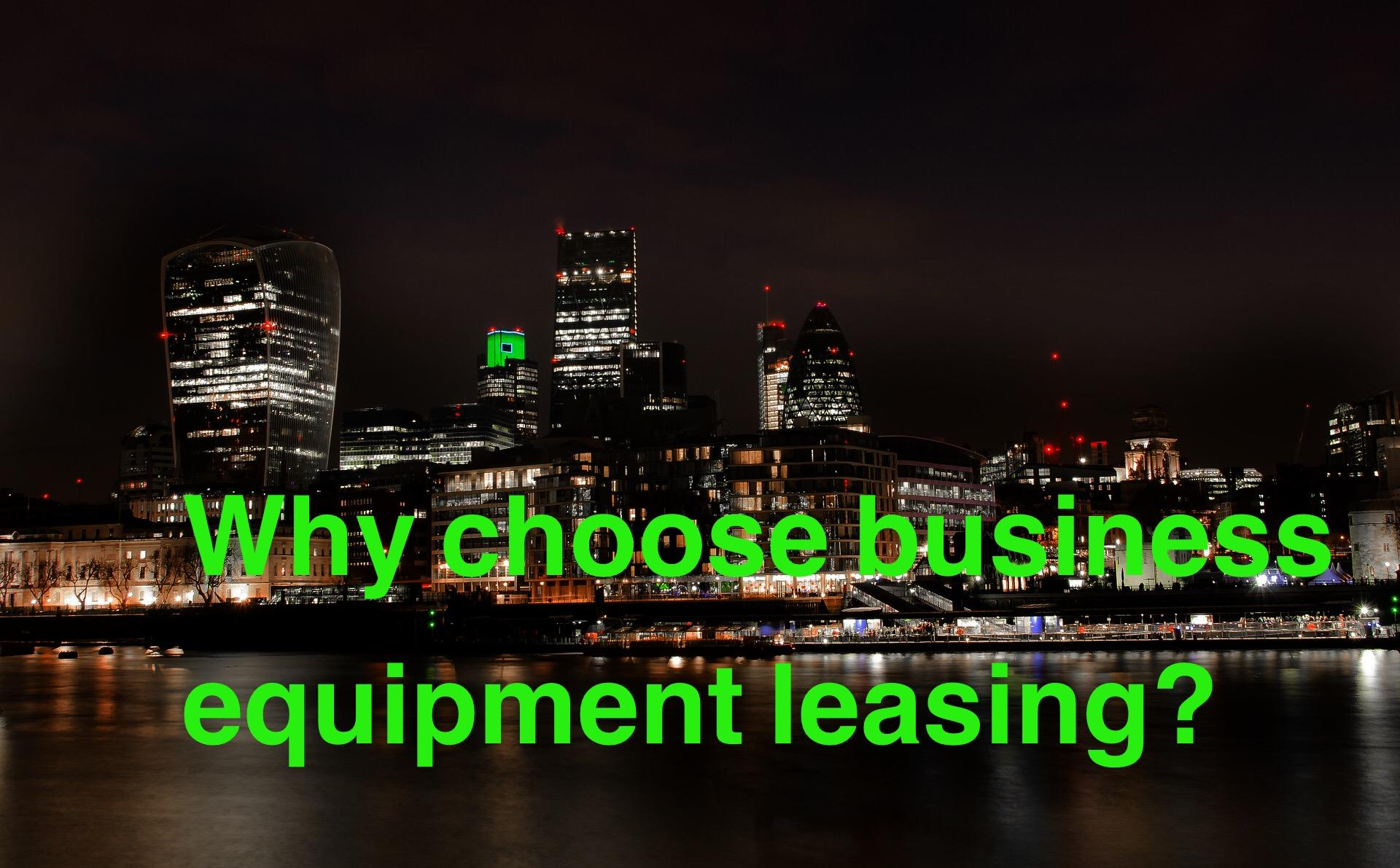 Oak Leasing, the business equipment leasing specialists