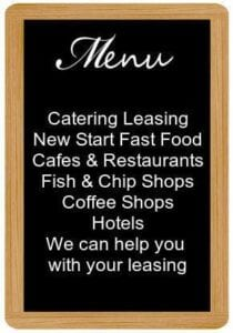 Catering equipment leasing specialists Oak Leasing